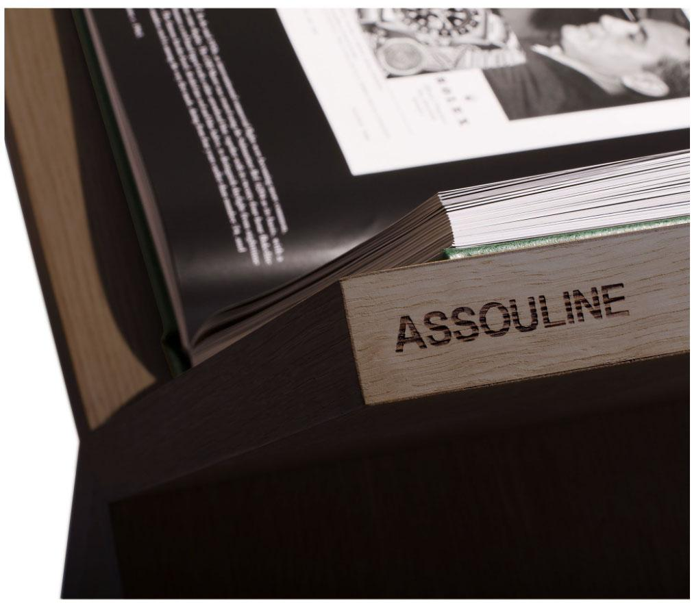 ASSOULINE Accessories Allure Bookstand - Dark Oak
