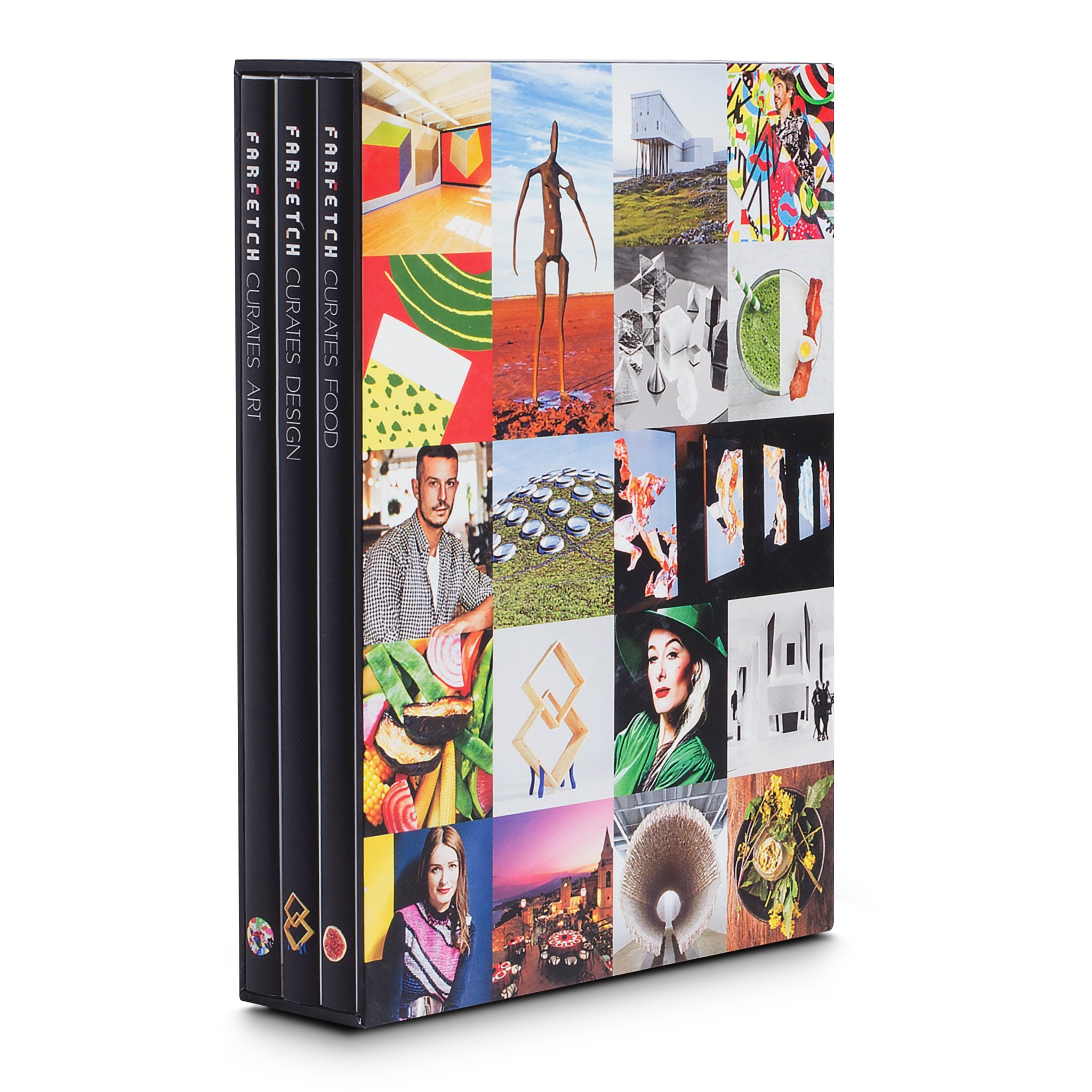 Assouline Books Farfetch Curates Slipcase - Set of 3