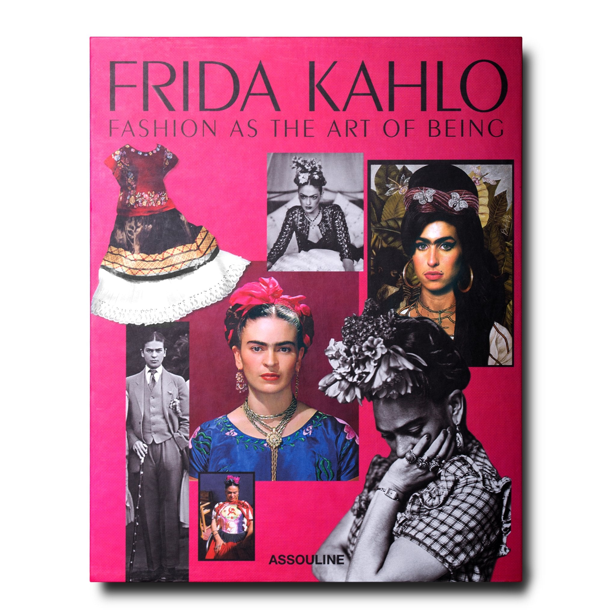 Book Cover Of Fashion ~ Frida kahlo fashion as the art of being book by s m vidal assouline