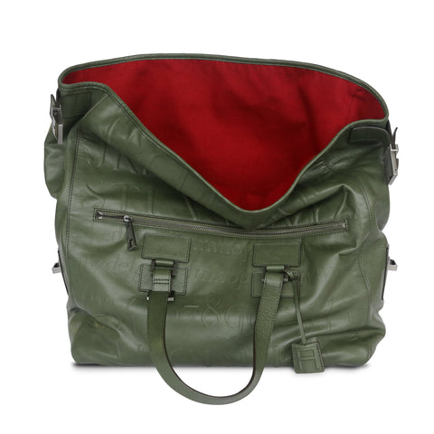 Didot Collection Green Bookbag - Assouline