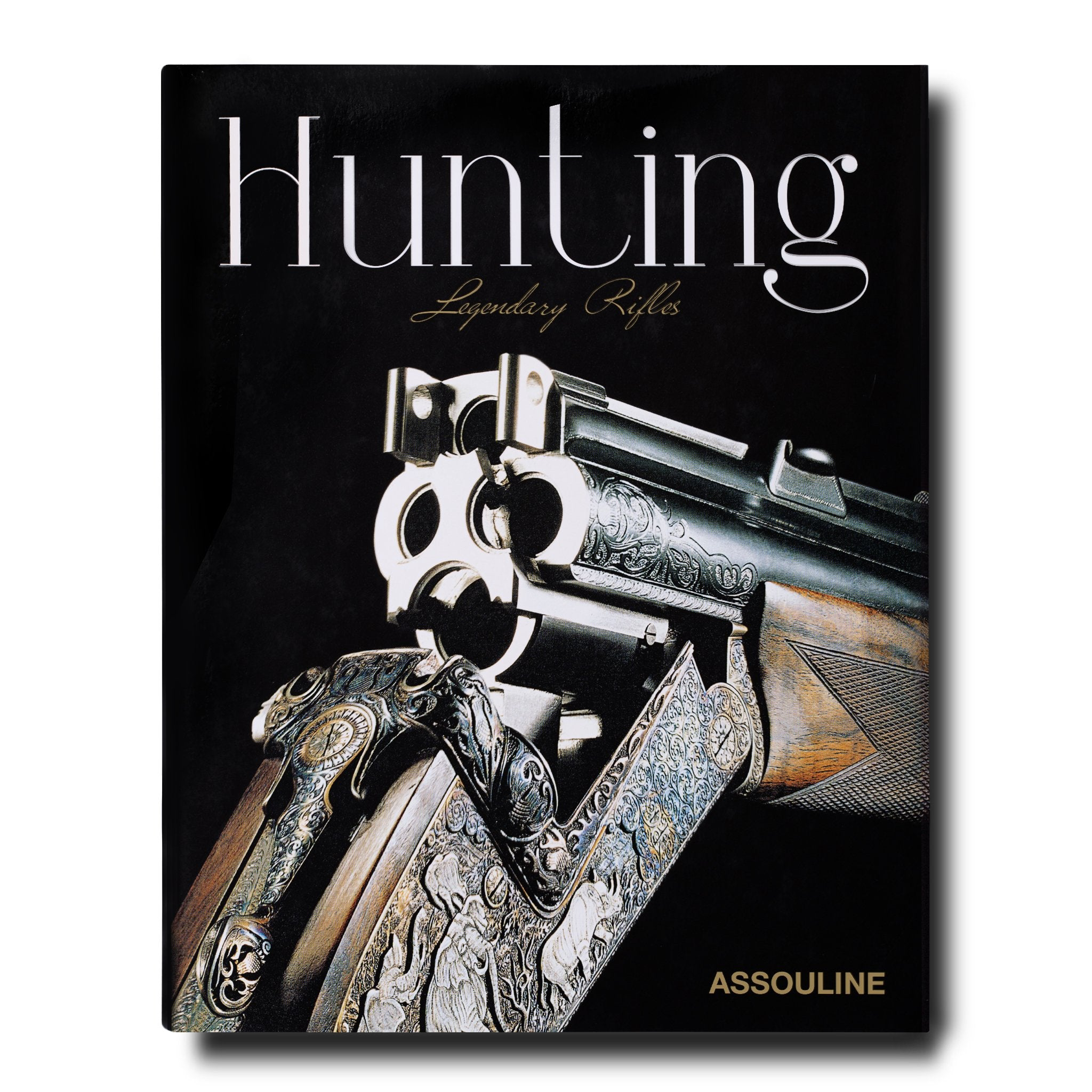 Assouline Books Hunting, Legendary Rifles