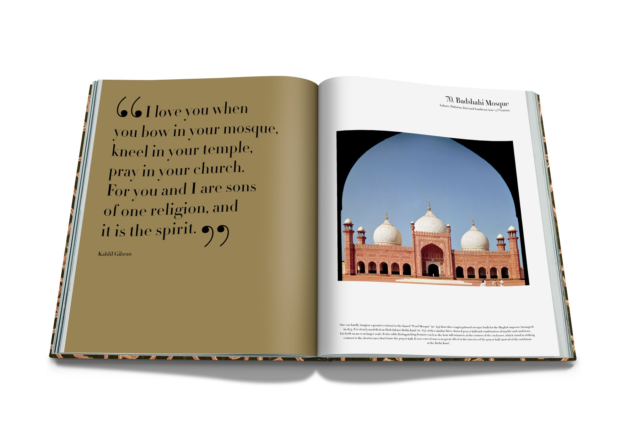 ASSOULINE Books Mosques: The 100 Most Iconic Islamic Houses of Worship (SE)