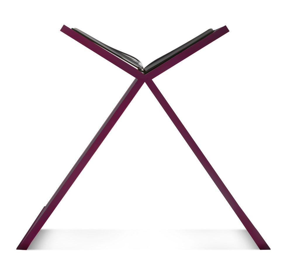 Allure Bookstand - Prune