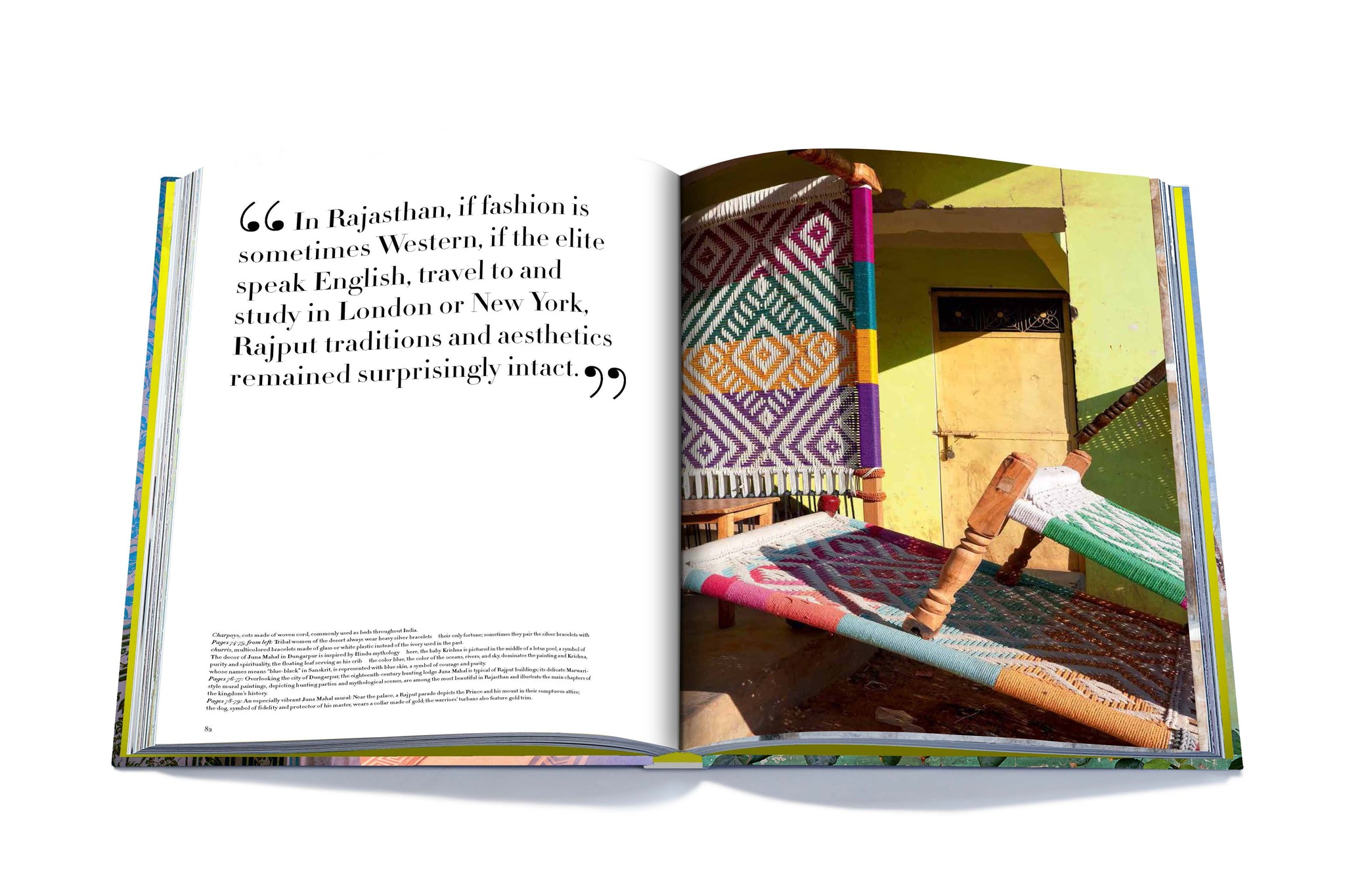 Assouline Books Rajasthan Style