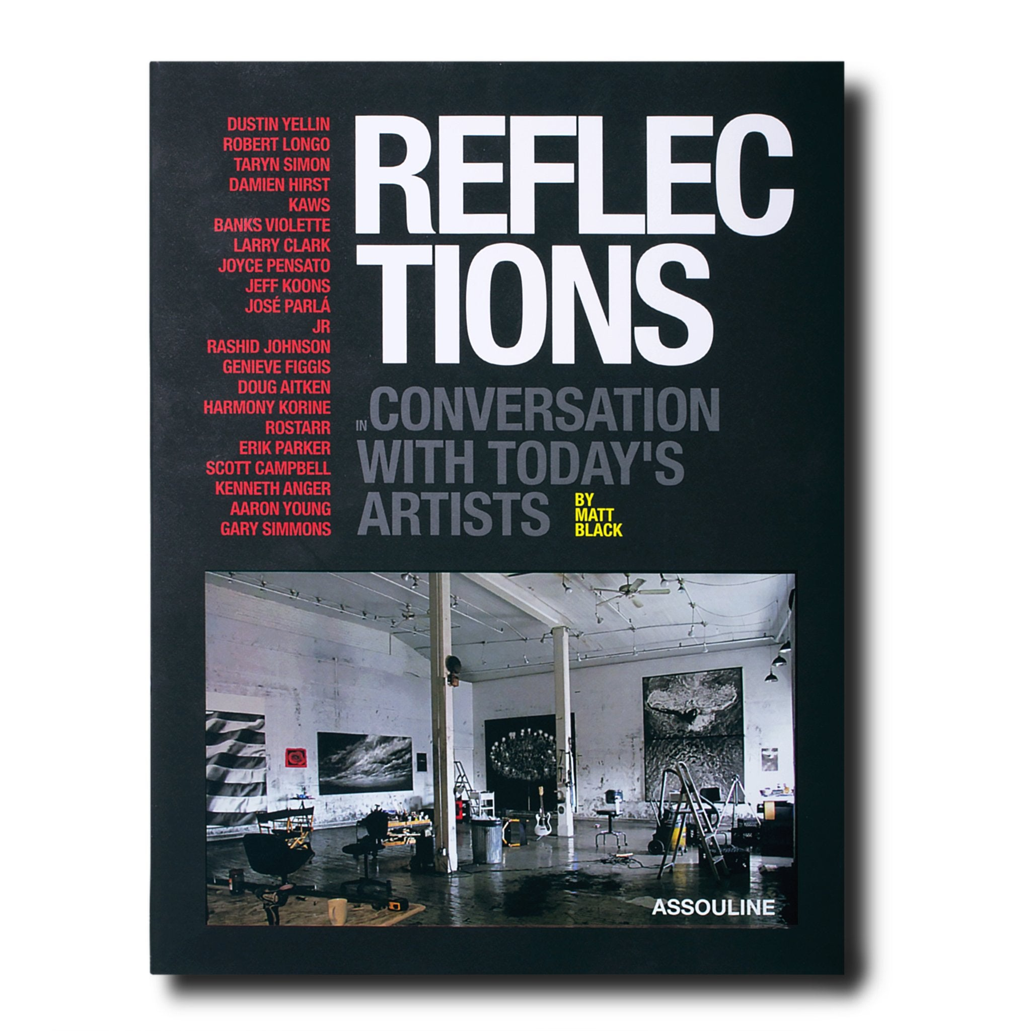 Assouline Books Reflections by Matt Black