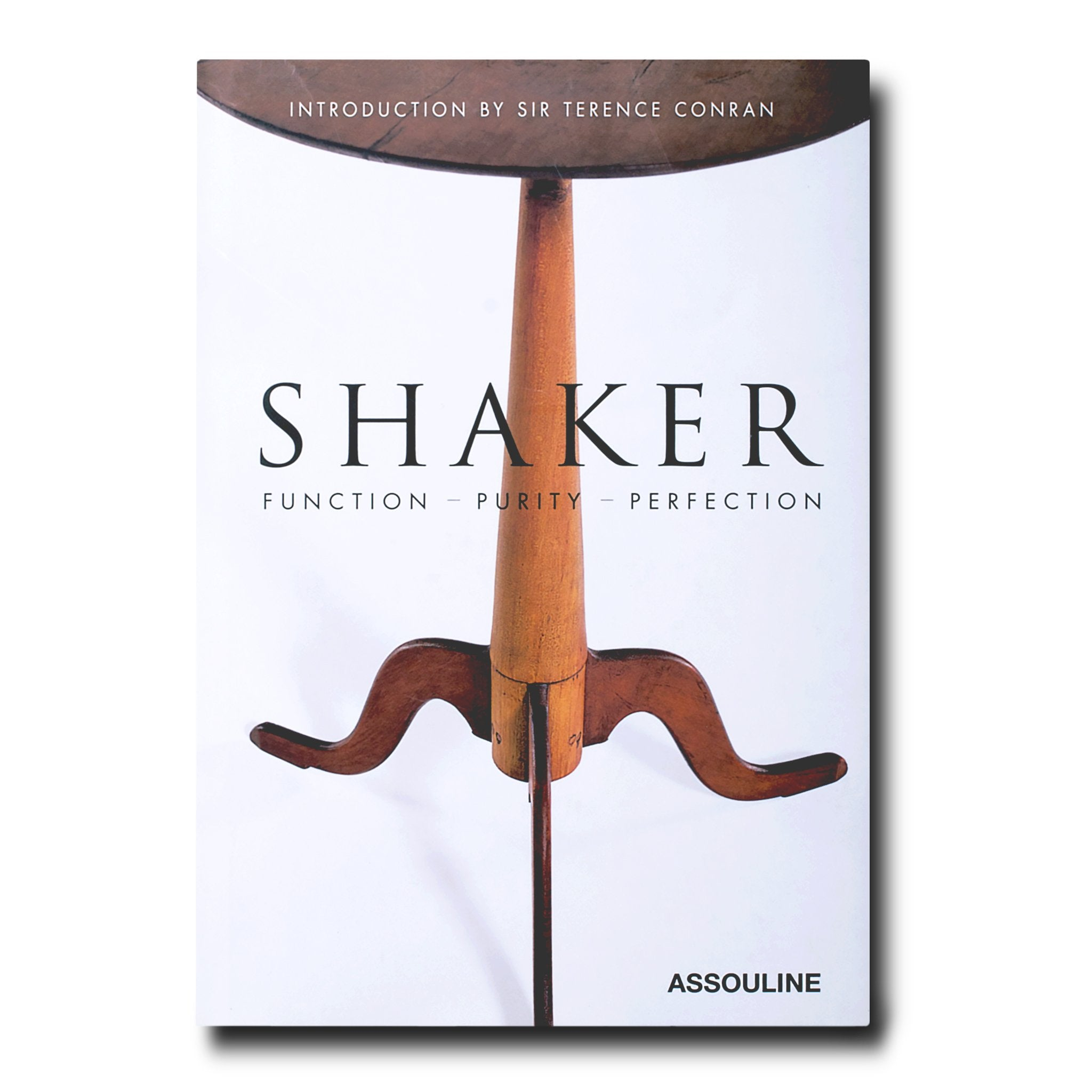 Assouline Books Shaker: Function, Purity, Perfection