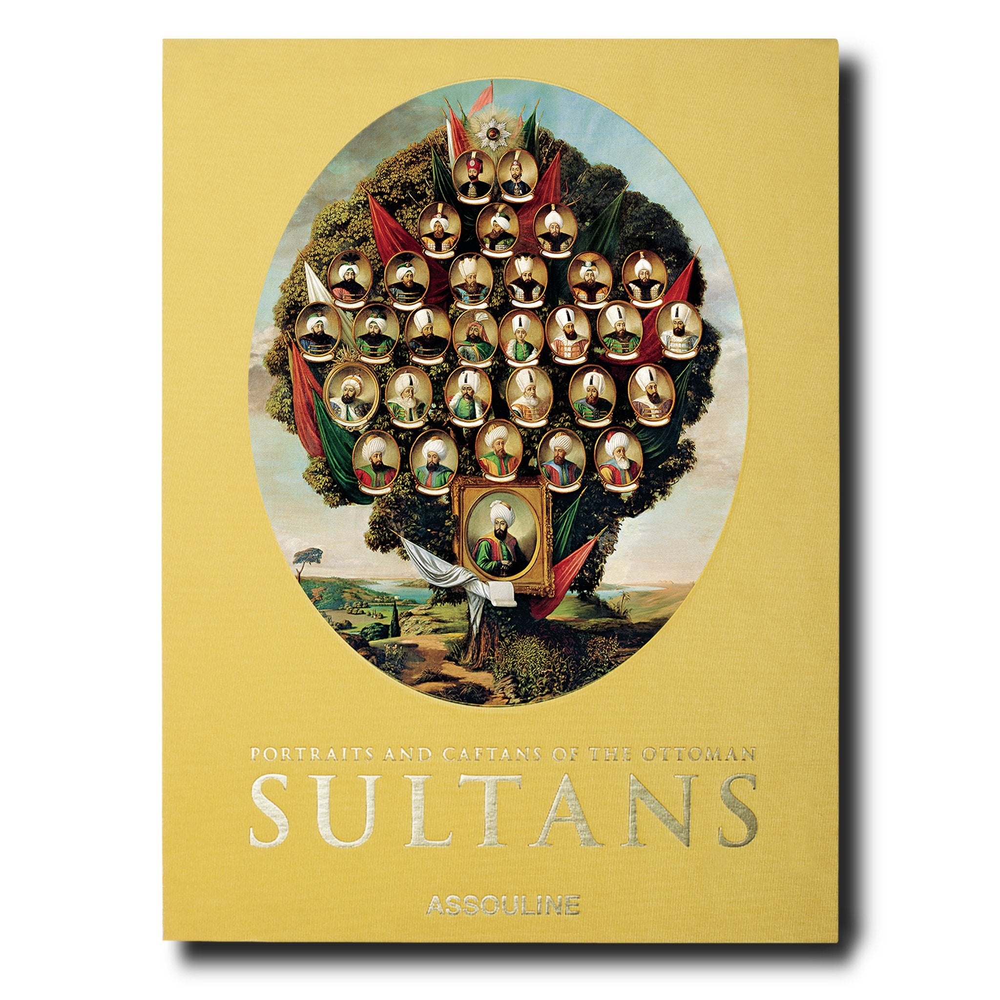 Portraits and Caftans of the Ottoman Sultans (Special Edition) - Assouline