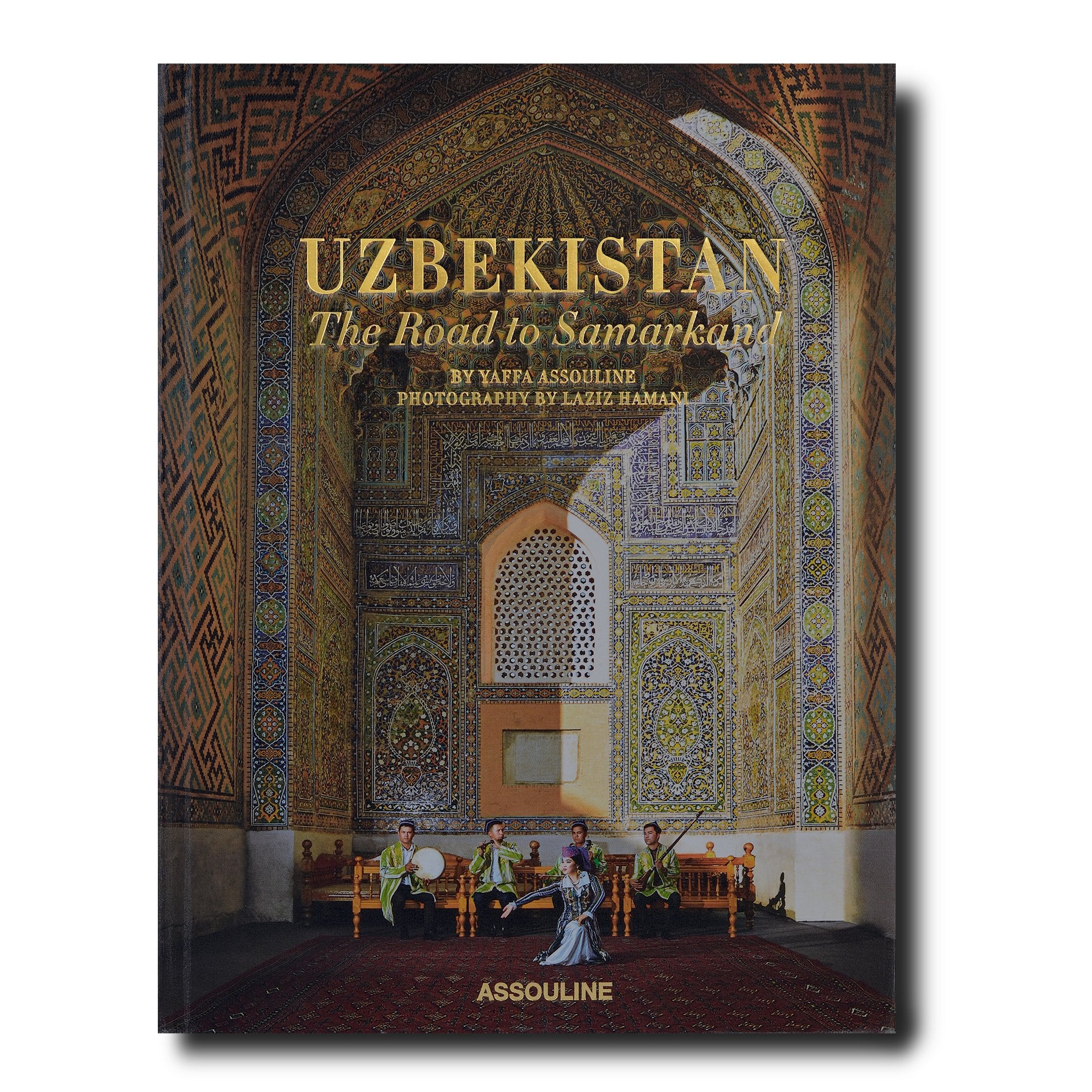 ASSOULINE Books Uzbekistan: The Road to Samarkand