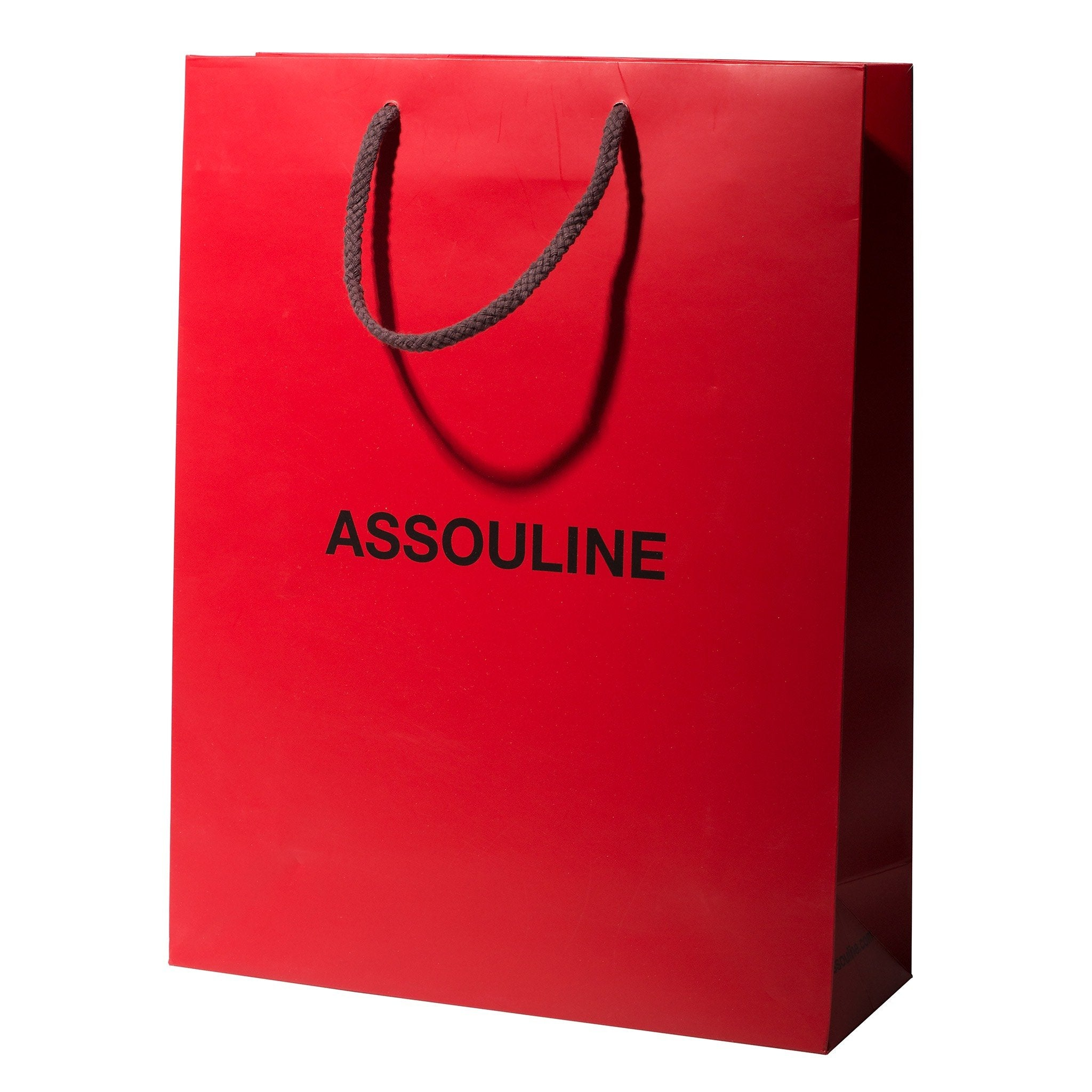 Extra Extra Assouline Shopping Bags RED SML