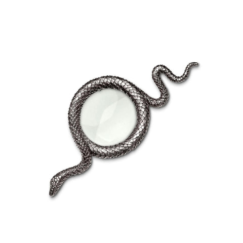 Silver Snake Magnifying Glass
