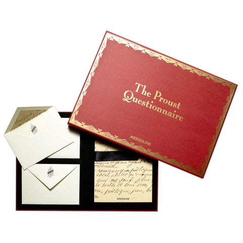 ASSOULINE Accessories Proust Stationery Set