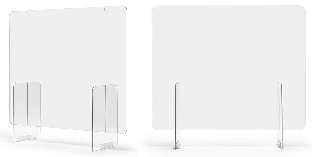 EzGARD Protective Plexiglass Sneeze Guards to help protect your employees and customers
