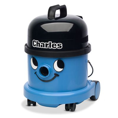 Numatic Charles CVC370 Wet Dry Canister Vacuum Cleaner - Front View