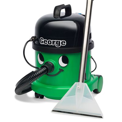 Numatic George GVE370 Canister Vacuum Extractor - Front View