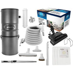 Cana-Vac CV700DP Ethos Central Vacuum with Power Essentials Electric Package