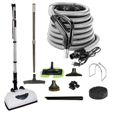 Wessel Werk Central Vacuum Accessory Kit with EBK341 Electric Power Head