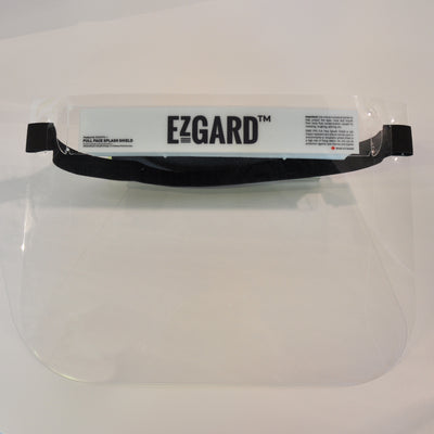 FaceShield by EZGARD™ | Protection for your eyes, nose and mouth