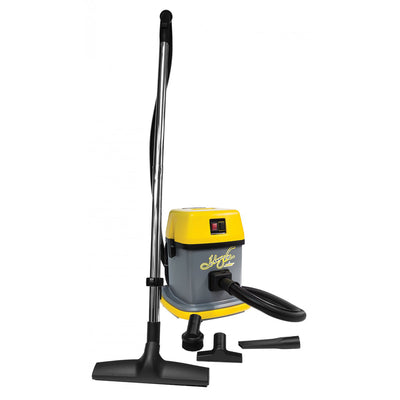Johnny Vac JV5 Commercial Canister Vacuum with 3 Gallon Capacity