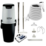 Nilfisk Supreme 150 Central Vacuum with Basic Electric Kit - White