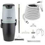 Nilfisk Supreme 250 Central Vacuum Cleaner with Standard Air Package - White