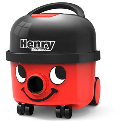 Numatic Henry Cordless HVB160 Canister Vacuum - Front