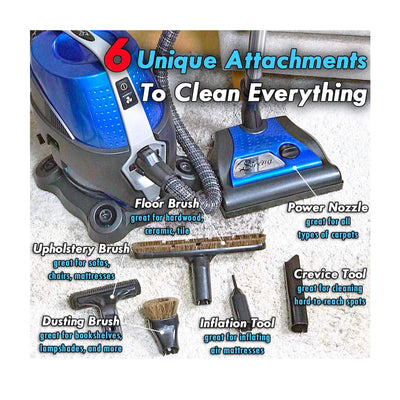 Sirena Canister Vacuum Cleaner - Tools