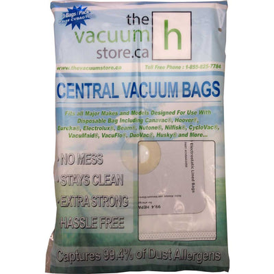 Central Vacuum Bags By The Vacuum Store