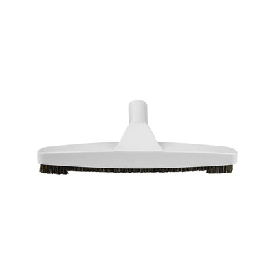 Vacuum Parts Canada Central Vacuum Hard Floor Vacuum Brush Attachment with Natural Bristles |  White | 12 inch