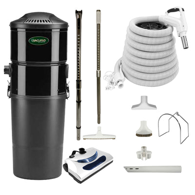 Vacuflo DB5000 Central Vacuum with Basic Electric Package - White