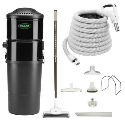 Vacuflo DB5000 Central Vacuum with Standard Air Package - White