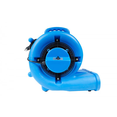 Blower - 1/2 HP - 3 Speeds - 2500 CFM - Side View