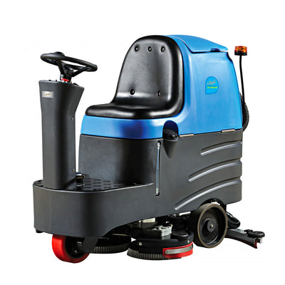 "Johnny Vac JVC70RIDERN Autoscrubber with 28"" Cleaning Path"