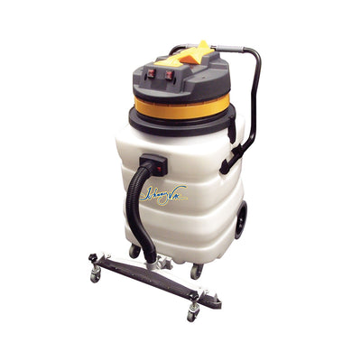 JV420HD - Heavy Duty Wet Dry Commercial Vacuum - 22.5 Gal. 2 Motors - Johnny Vac
