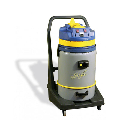 JV420P - Wet Dry Commercial Vacuum With Tipping Tank - 15.8 Gal 1600 W - Johnny Vac