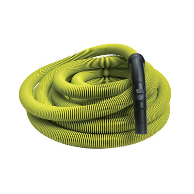 Lime Colour Air Hose 50' X 1 1/4'' Dia, With End Cuff And Handle