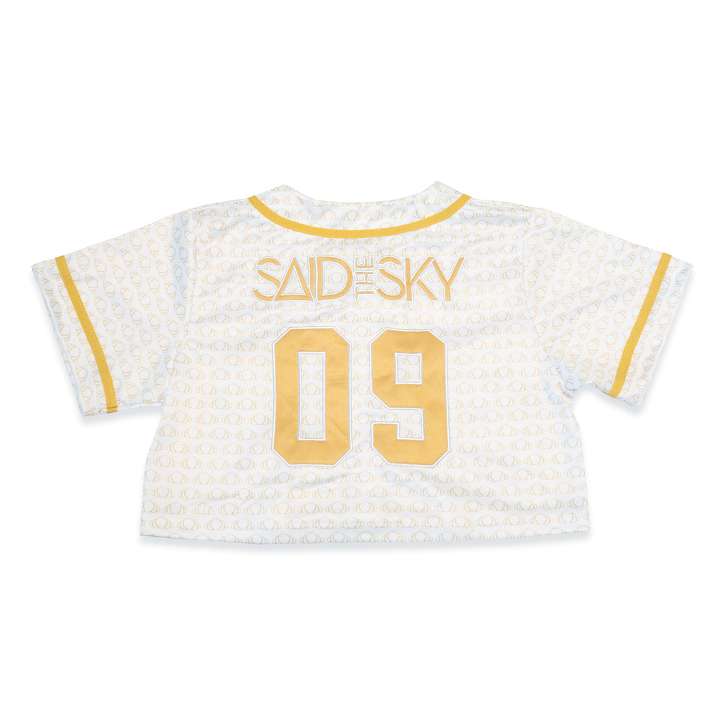 STS Women Crop Jersey / White