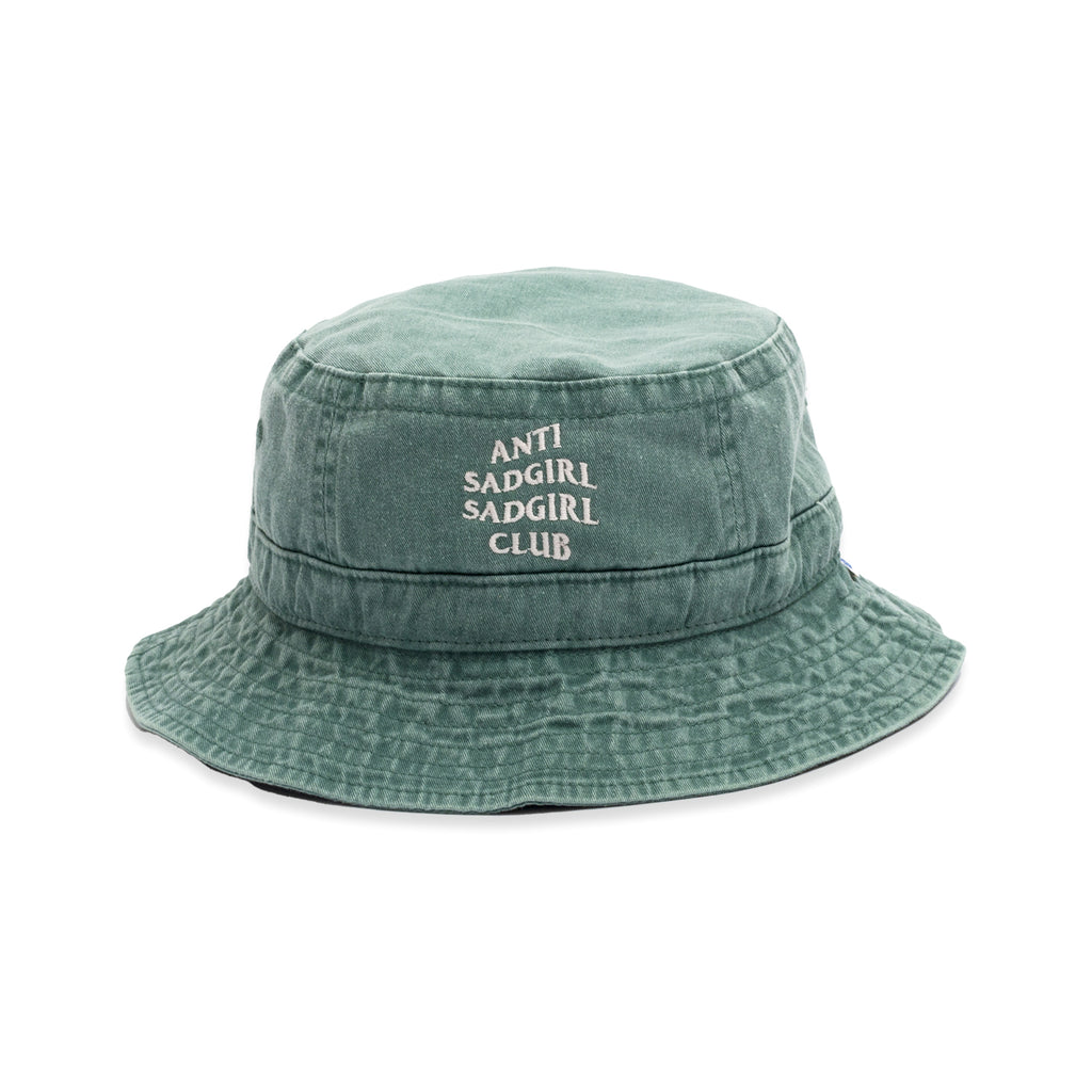 Anti Sadgirl Bucket Hat / Mint