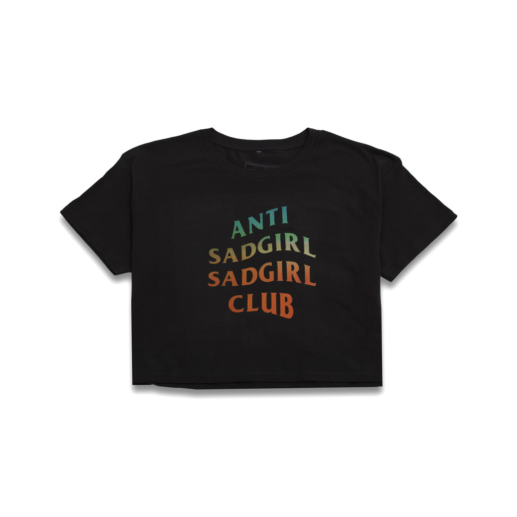 Anti Sadgirl Women Crop