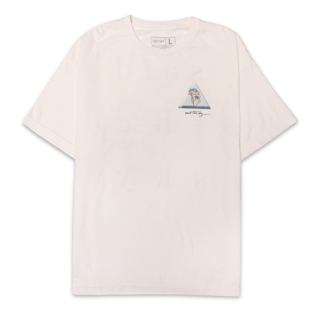 STS Stone Wash Tee / White