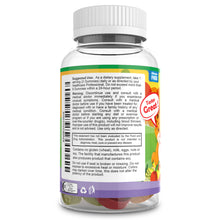 kids multivitamin gummies suggested use by good and happy nutrition