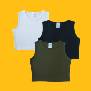 Crop top - 8 couleurs
