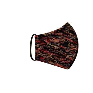 Masque lavable - Motif multicolore
