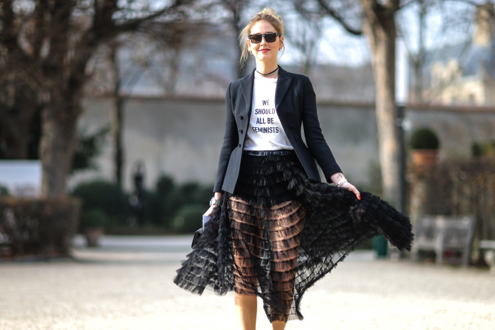 She Is Rebel - Chiara Ferragni - The Fearful Double F : A Fierce Feminist And A Fashion Fanatic