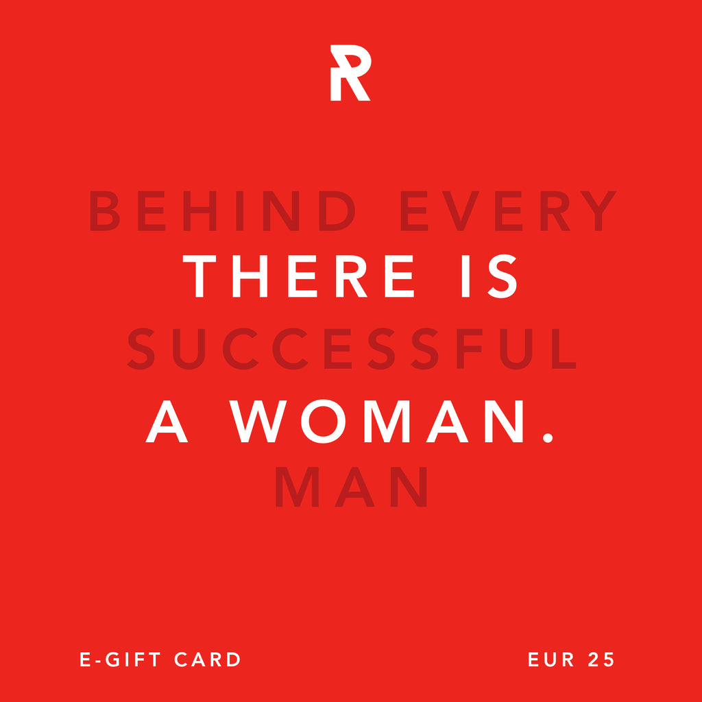 SHE IS REBEL - E GIFT CARD - WOMEN SUCCESS - BEHIND EVERY SUCCESSFUL MAN, THERE IS A WOMAN.