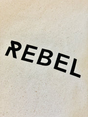 She Is Rebel - She Is Rebel Eco-friendly Natural Color Cotton Tote Bag - Shop Stylish Sustainable Women's Accessories