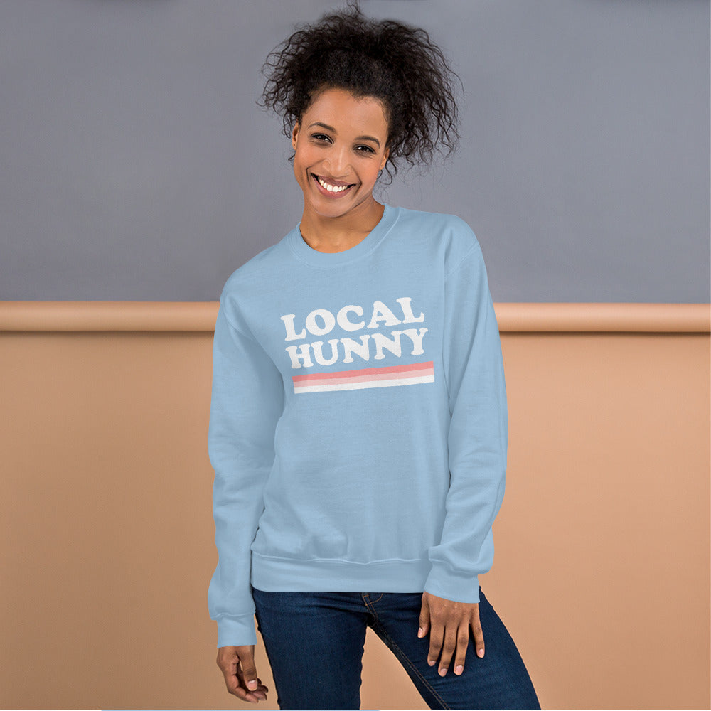 Local Honey Blue Sweatshirt