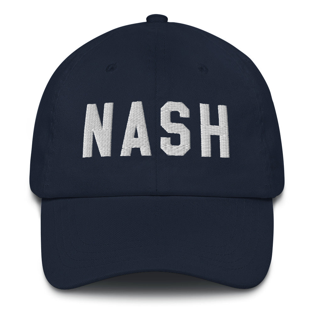 NASH 3D Embroidered Dad Hat