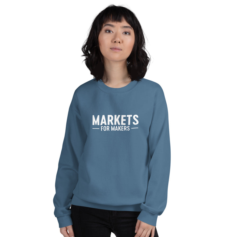 Markets for Makers Sweatshirt