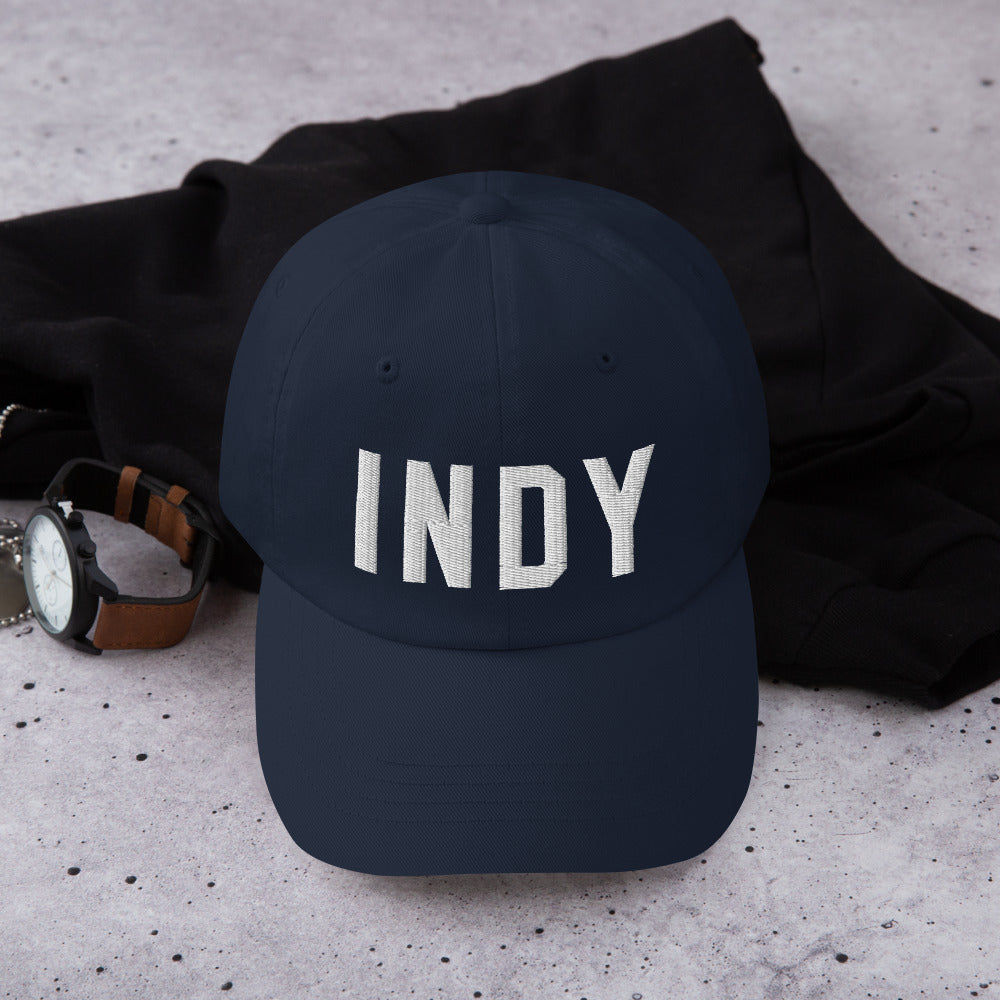 Indy 3D Embroidered Dad Hat