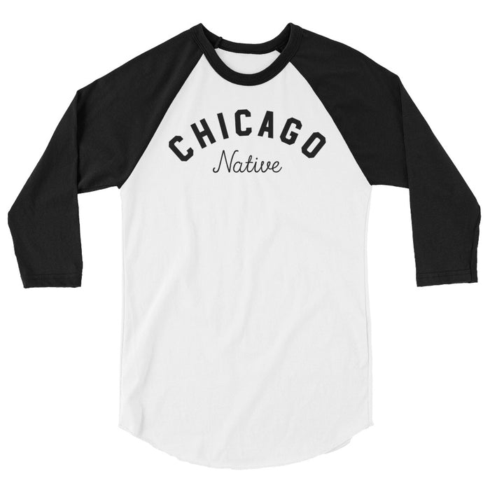 Chicago Native 3/4 Raglan Shirt